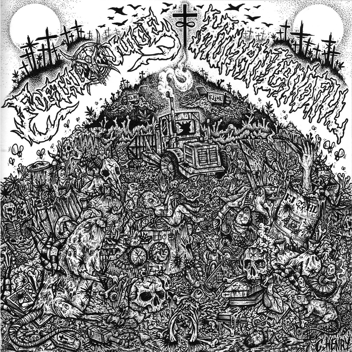 Foetal Juice - Split with Human Landfill